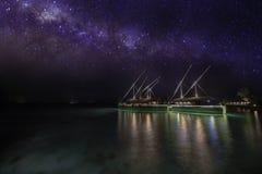 Milaidhoo de Maldiven stock fotografie