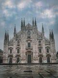 Milan& x27 καθεδρικός ναός του s, Λομβαρδία, Ιταλία στοκ εικόνες με δικαίωμα ελεύθερης χρήσης