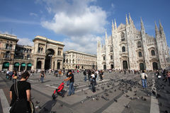 Milan royalty free stock photos