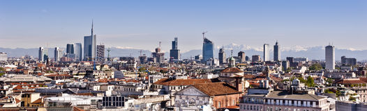 Milan 2012: new skyline Royalty Free Stock Photography