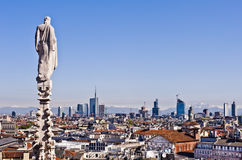 Milan, 2012: new skyline Stock Image