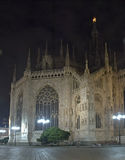 Milan. The Dome, Milan city centre, Italy stock image
