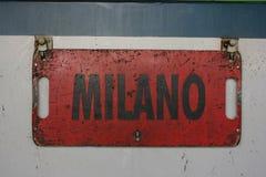 milan photos stock