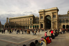 Milan royalty free stock photography