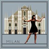 Milan 1 Royaltyfria Foton