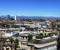 Milan, aerial view Stock Photo