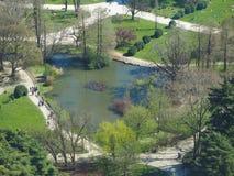 Milan aerial view Royalty Free Stock Photos