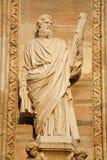 Milan - apostle Jude Thadeus statue - Dom facade Stock Photography