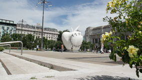 Milan Apple central station stock video