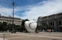 Milan Apple central station Stock Photography