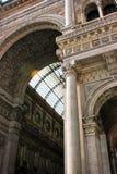 Milan arcade Stock Images