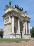 Milan architecture Royalty Free Stock Photography
