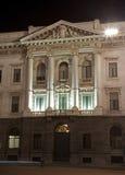 Milan - bank facade Royalty Free Stock Photography