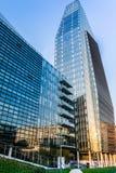 Milan Business område assisinuovaporta umbria Italien, Arkivbilder