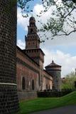 Milan - Castello Sforzesco, Sforza Castle royalty free stock images