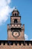 Milan - Castello Sforzesco, Sforza Castle Stock Photo