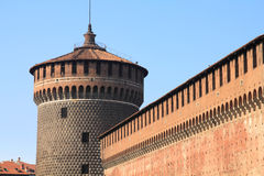 Milan castle Royalty Free Stock Photo