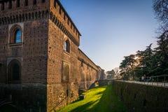 Milan Castle Fotografia Stock