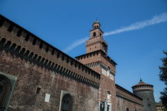Milan castle Royalty Free Stock Photos