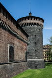 Milan castle Royalty Free Stock Images