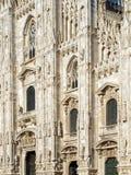 Milan, cathédrale 1354, Italie, 2013 de Duomo Photographie stock libre de droits