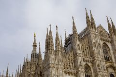 Milan Cathedral royalty-vrije stock afbeelding