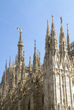 Milan Cathedral Royalty Free Stock Photos
