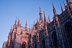 Milan Cathedral Stock Image