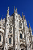 Milan Cathedral. (Duomo di Milano) church in the center of Milan, Italy Stock Photography