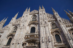 Milan Cathedral Foto de Stock Royalty Free