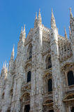Milan Cathedral Stock Foto's