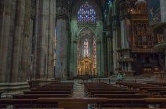 Milan Cathedral 8 Royaltyfria Bilder