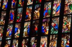 Milan Cathedral 10 Arkivbilder