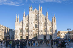 Milan Cathedral Stockbild