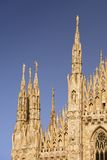 Milan Cathedral Royalty Free Stock Photo