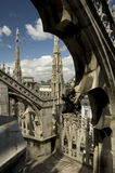 Milan, cathedral Royalty Free Stock Photos