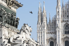 Milan Cathedral Royalty-vrije Stock Foto