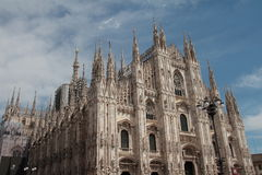 Milan Cathedral fotografia stock