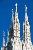 Milan Cathedral architecture Royalty Free Stock Images