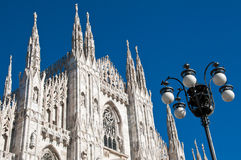 Milan Cathedral architecture Royalty Free Stock Photo