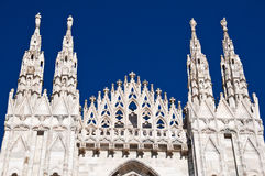Milan Cathedral architecture Royalty Free Stock Photos
