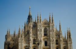 Milan Cathedral (bóveda, Duomo) Foto de archivo