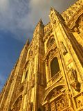 Milan Cathedral is the cathedral church of Milan in Lombardy, no Stock Photography