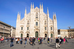 Milan cathedral. Stock Photo