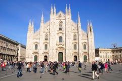Milan cathedral. Stock Photo
