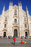 Milan cathedral. Stock Images