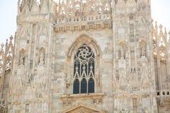 Milan Cathedral Details foto de archivo libre de regalías