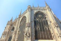 Milan Cathedral Details fotos de archivo