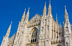 Milan Cathedral Dome Stock Photography