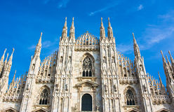 Milan Cathedral Dome Stock Photo